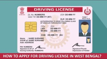 Driving License Online Apply West Bengal